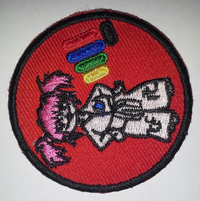Badge Rojo