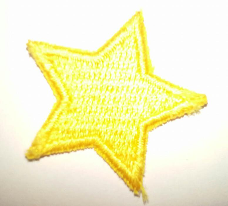 Badge estrella dorada