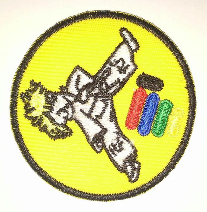 Badget amarillo